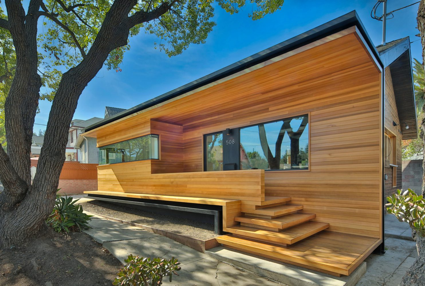 Renovated wooden bungalow
