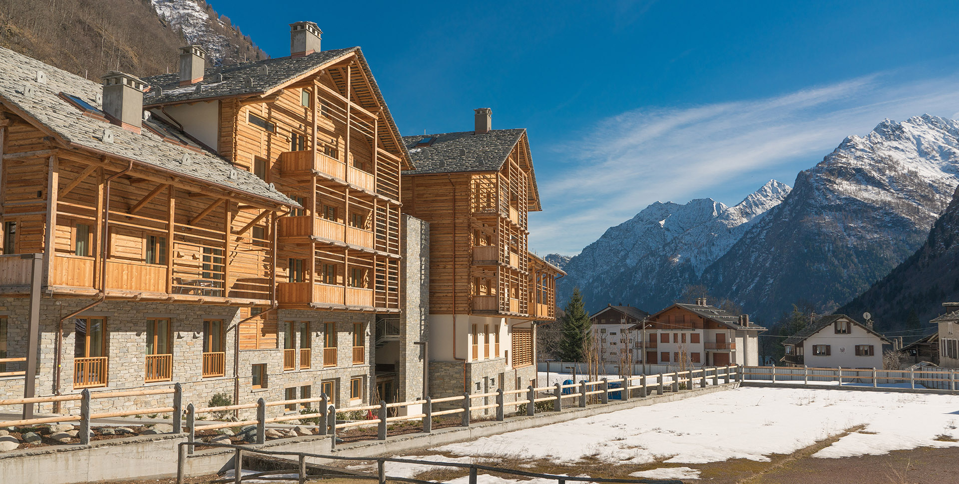 Quality resort in the Piedmont Alps