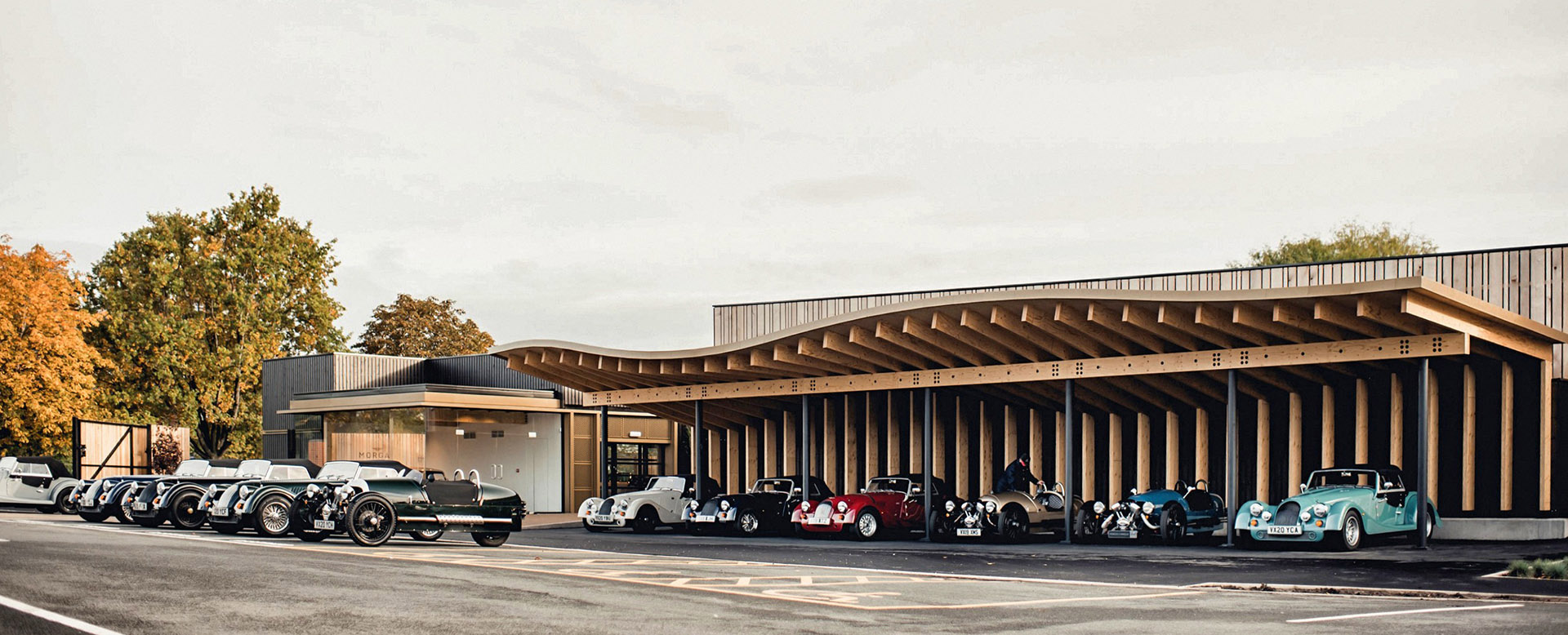 Experience Center for the Morgan Motor Company