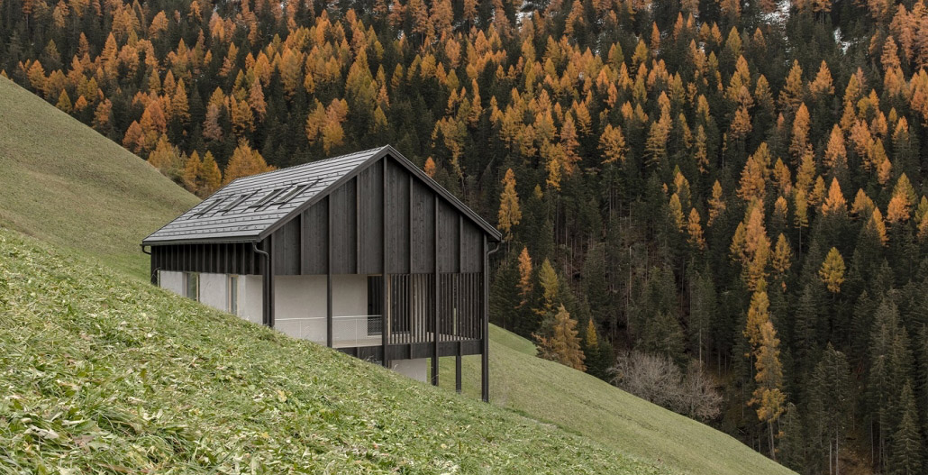 Wooden house in South Tyrol