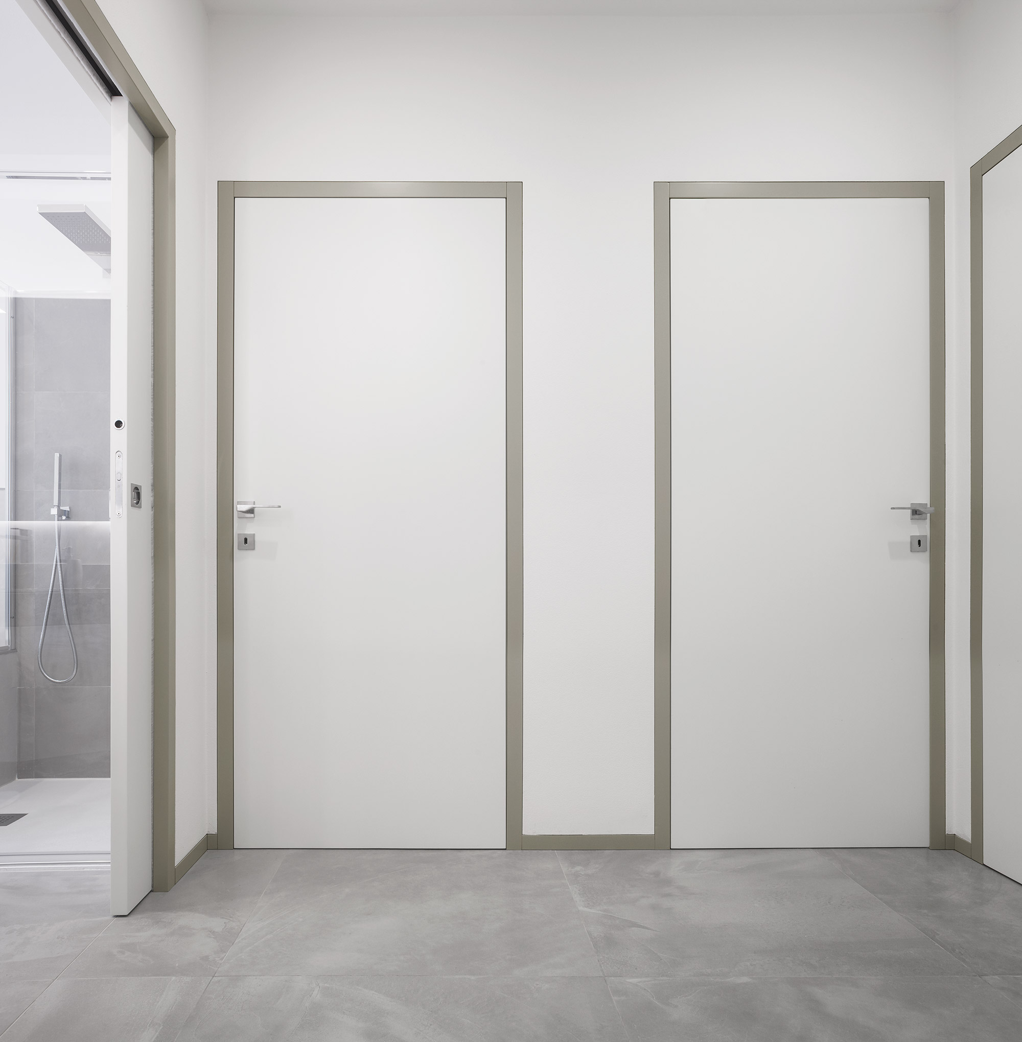 Doors and interior spaces