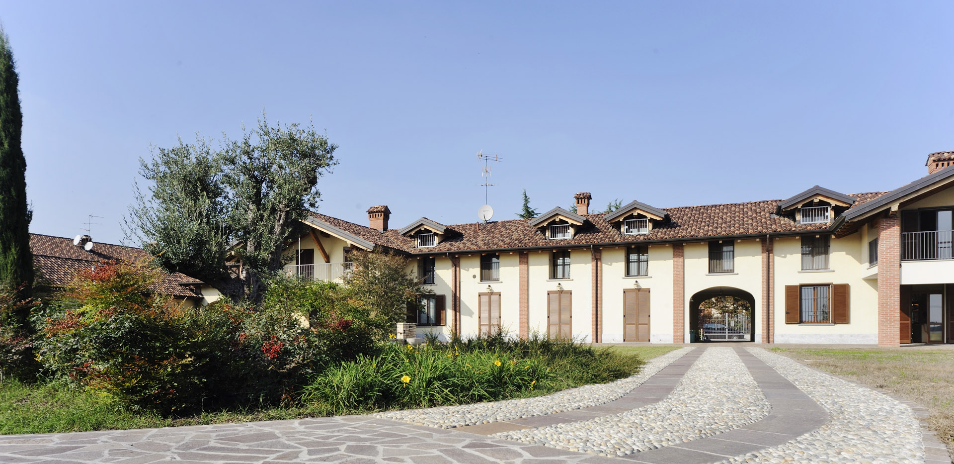 Historic villa near Milan