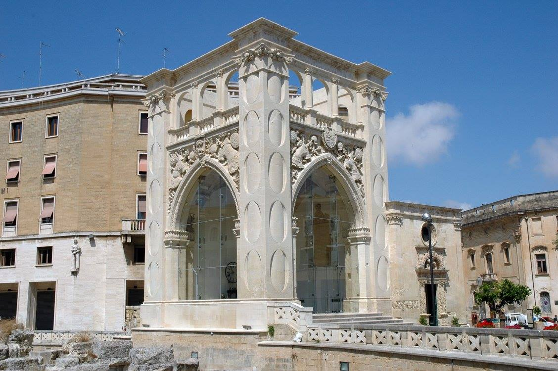 Historic building in Lecce restored