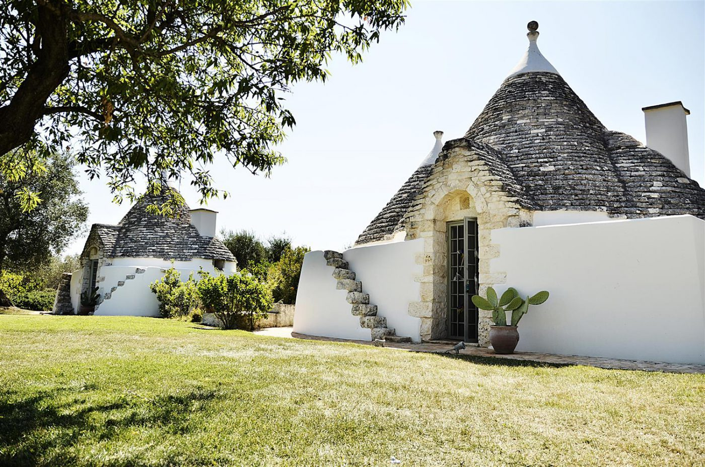 Trullo pugliese recovered