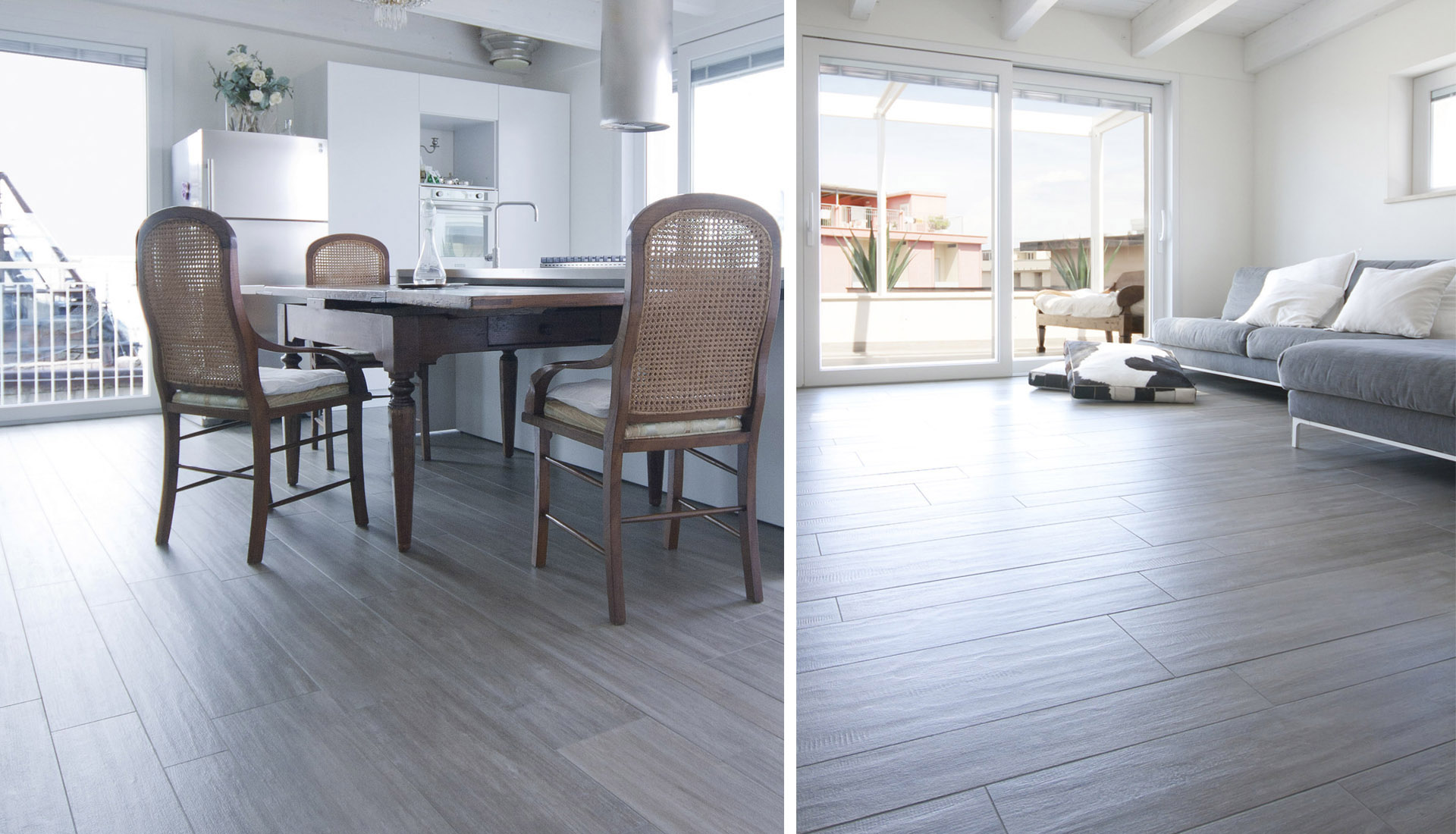 Appartamento rivestimenti pavimenti Iris ceramica Active Clean Air & Antibacterial Ceramic™