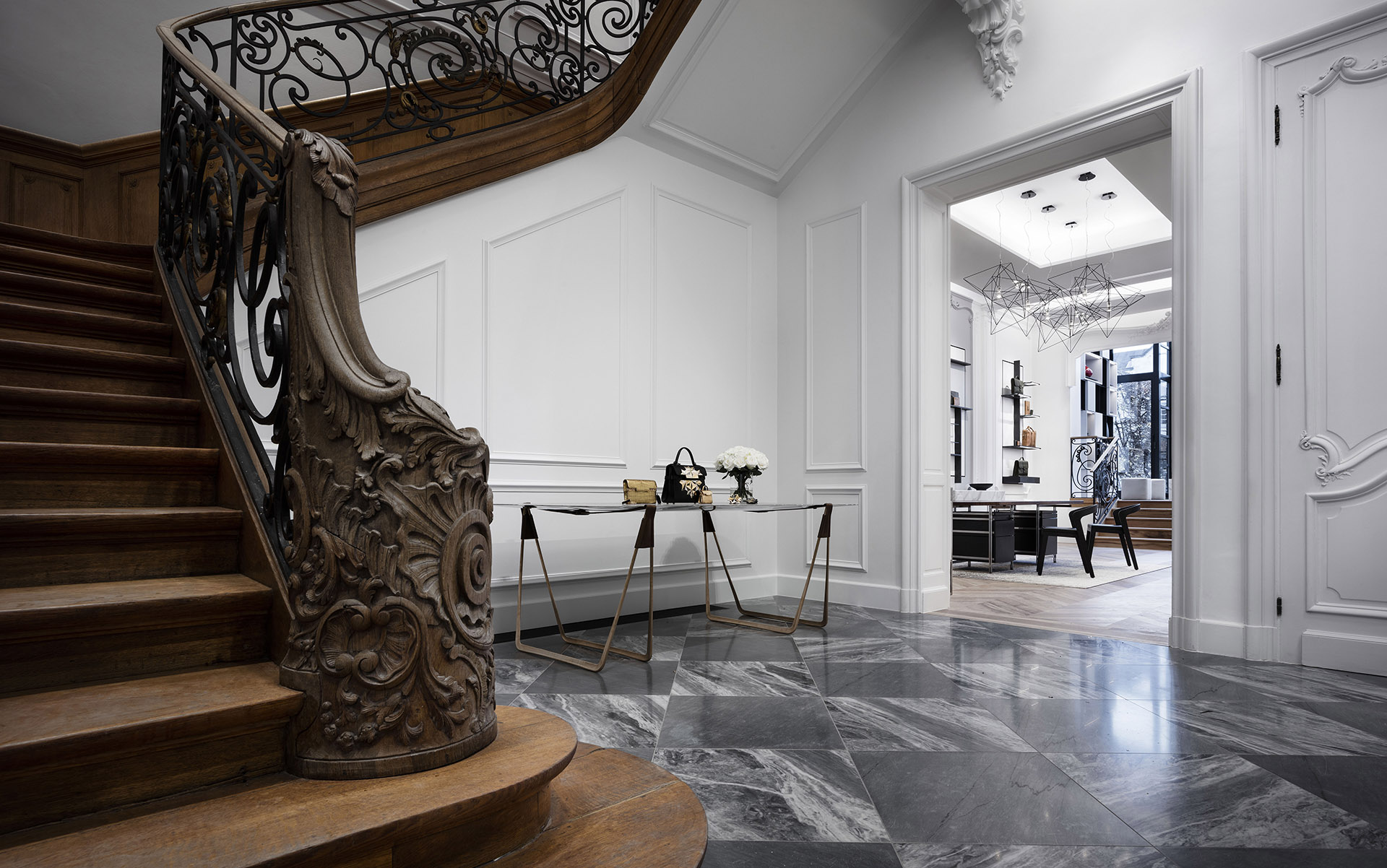 19th century residence transformed into a shop