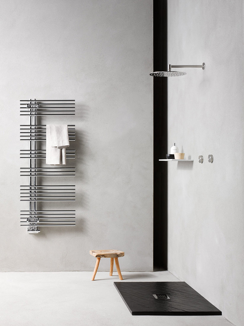 Caleido towel warmer classic design