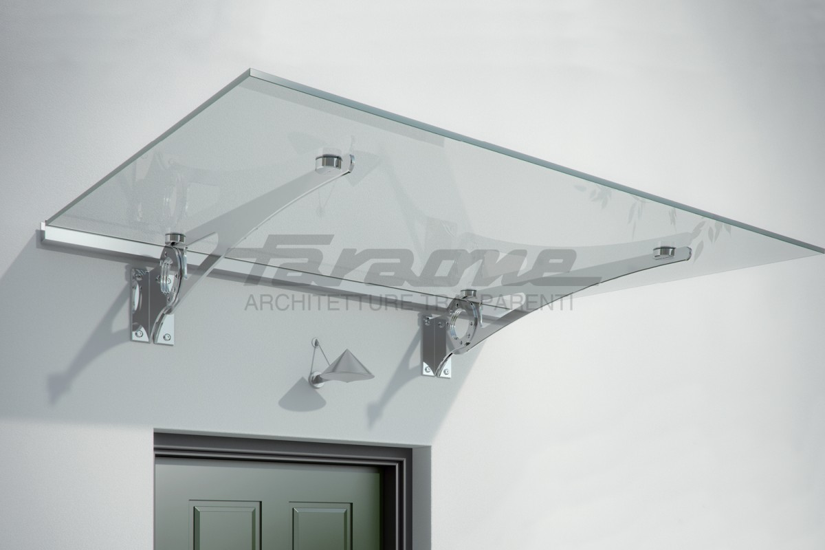 Faraone curved glass shelter