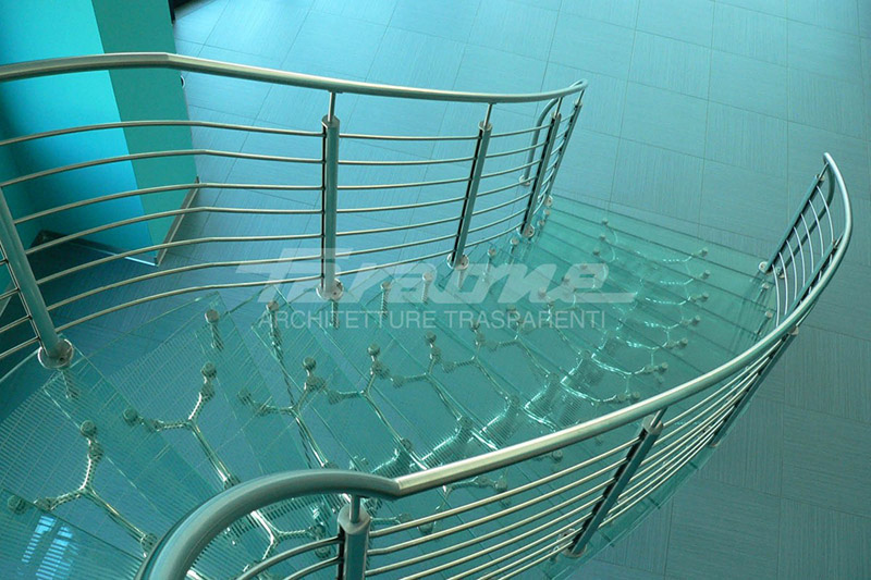 Imperial Pharaoh glass staircase
