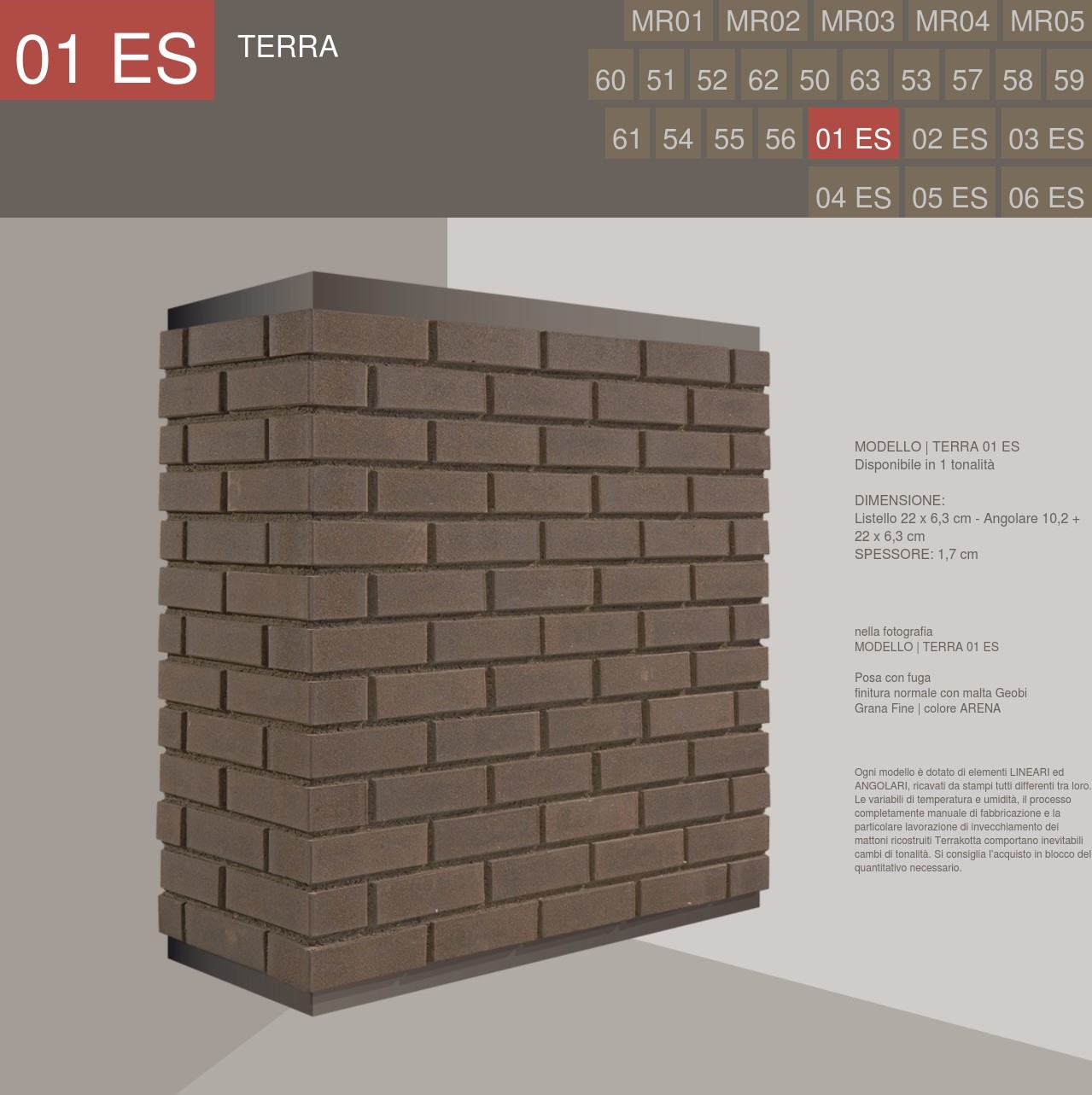 Terrakotta Profile Terra Stone Wall Covering