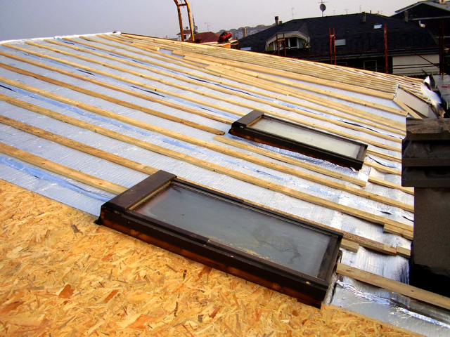 Overfoil Over-All roof insulation