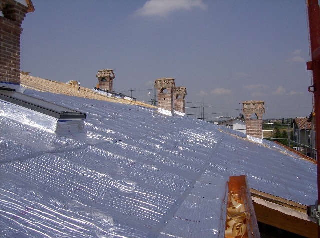 Over-All roof insulation