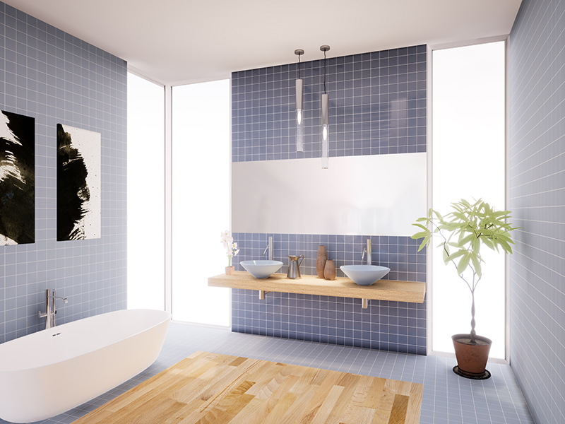 Ce.Si modern tile bathroom