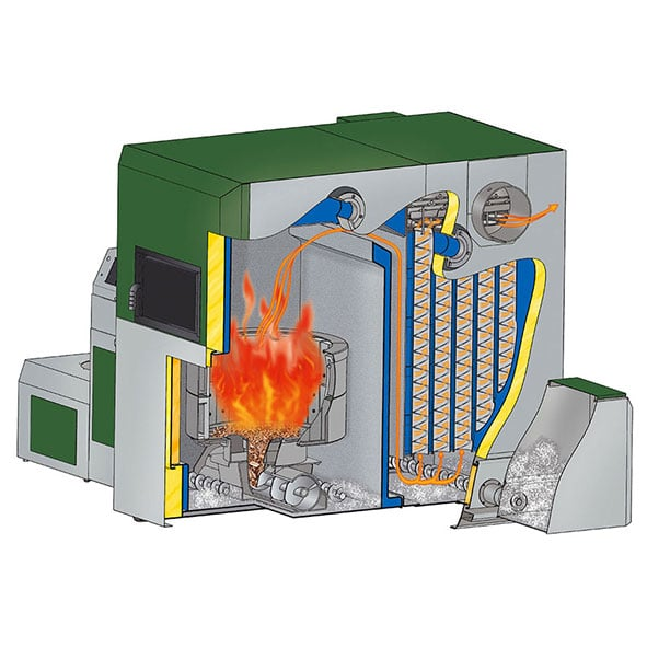 Boiler combustion with different fuel qualities