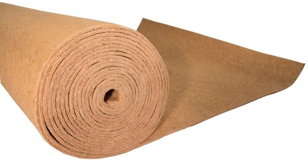 Polyplatt natural product with natural wood fiber