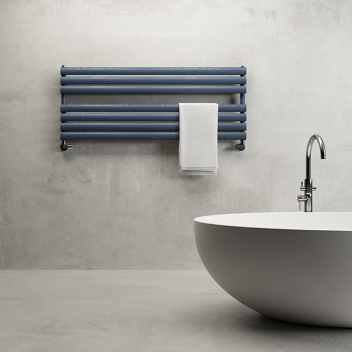 Towel Warmer Samira Blue