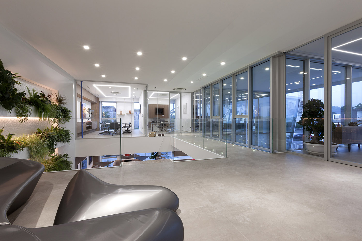Corporate headquarters interior