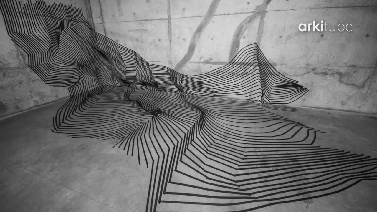 Third installation in the Topographical Space series