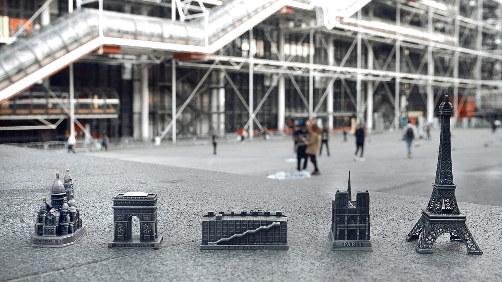 A Souvenir for the Pompidou Center