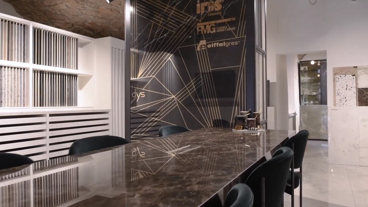 A new showroom for Iris Ceramica in Lyon