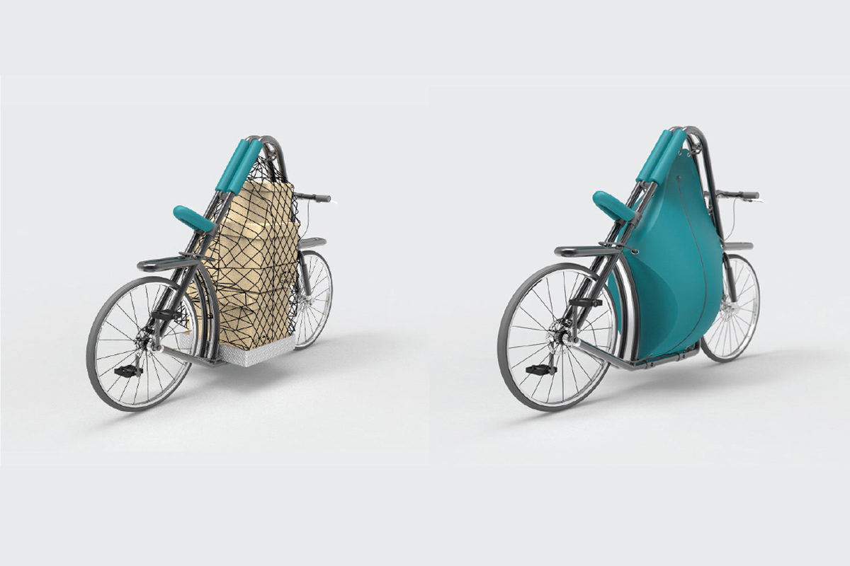 Urban cargo bicycle