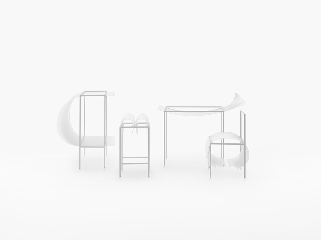 polycarbonate seating collection Bouncy Layers