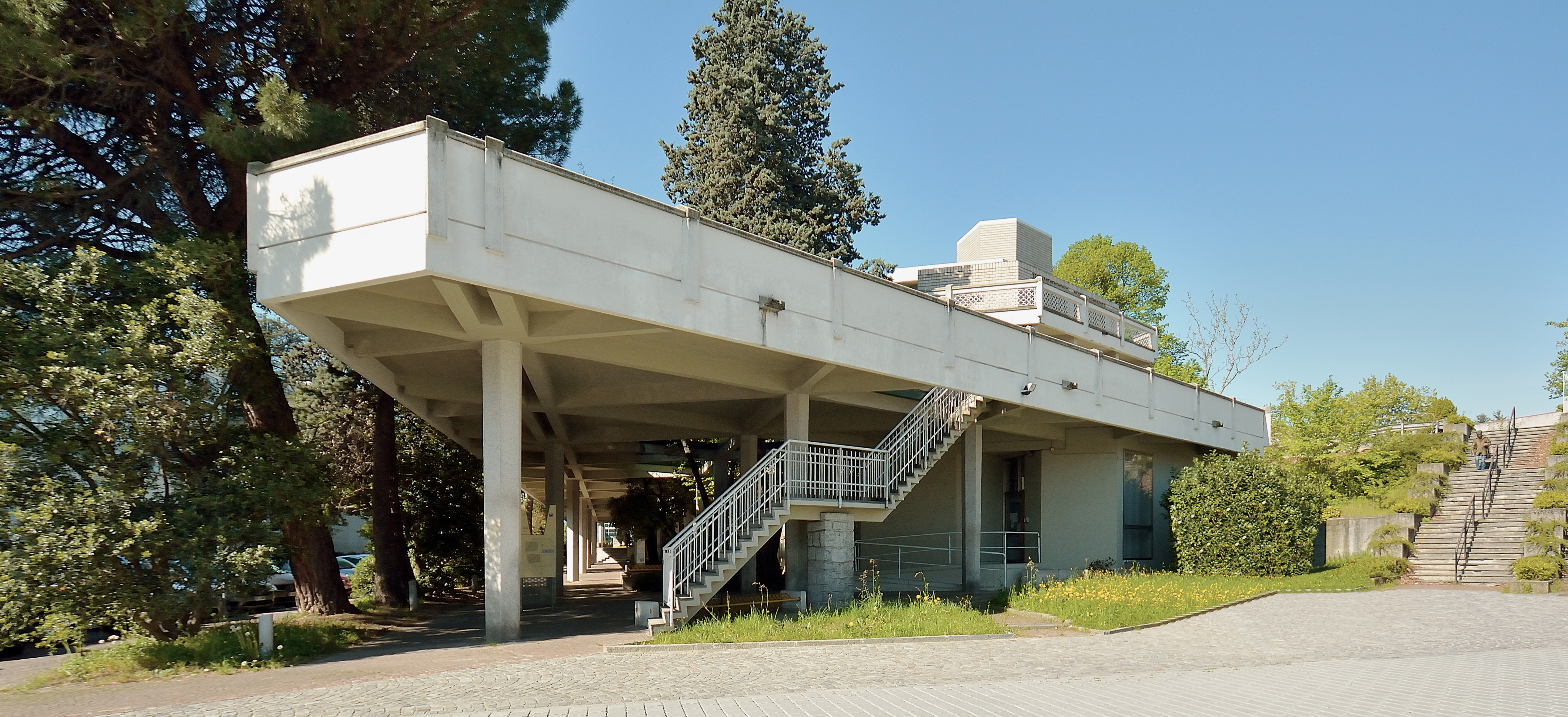 Olivetti Ivrea Portico headquarters
