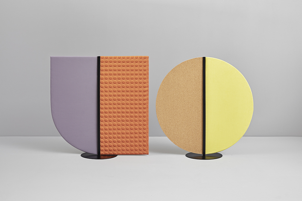 colored acoustic panels