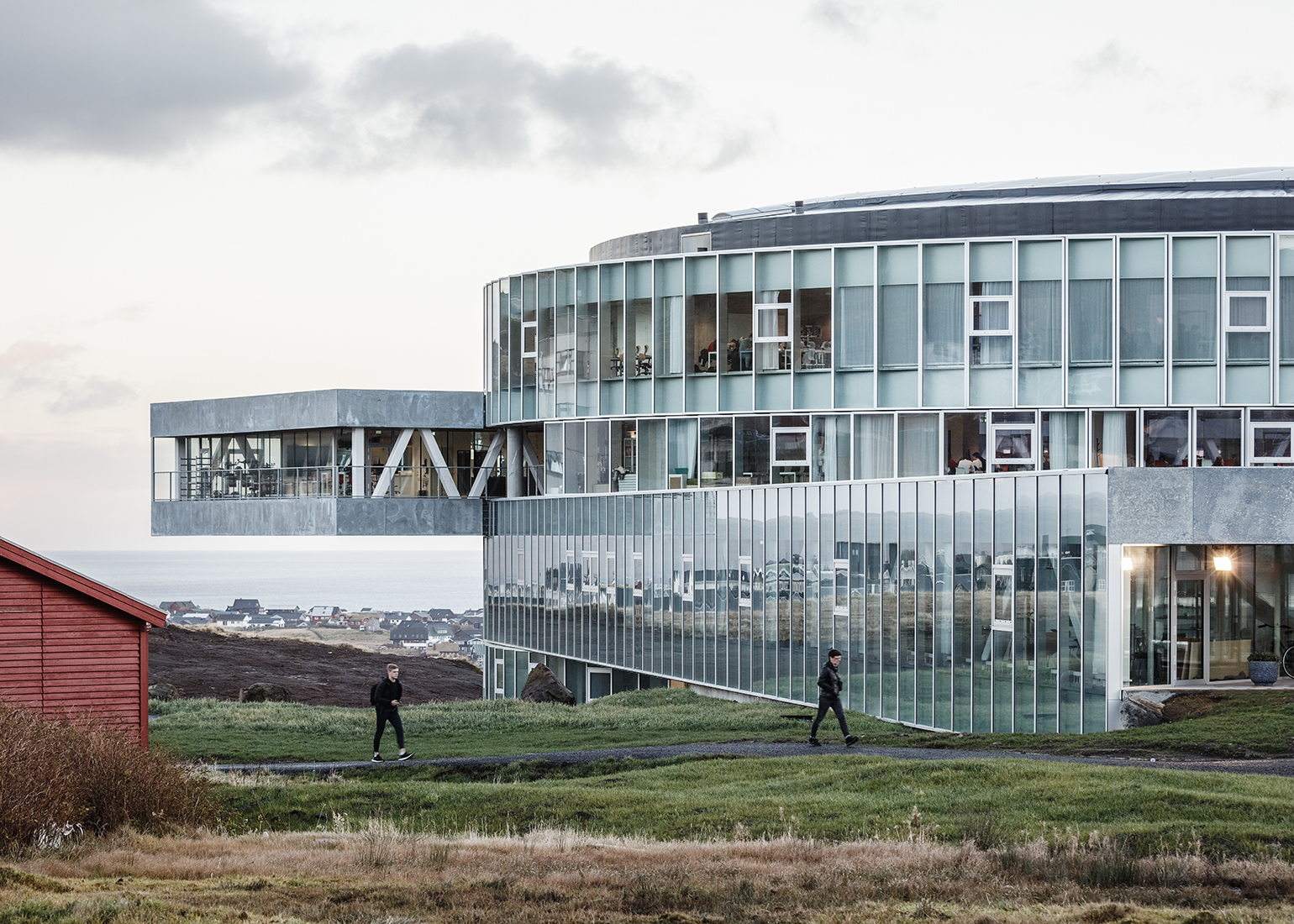 university of denmark glass facade